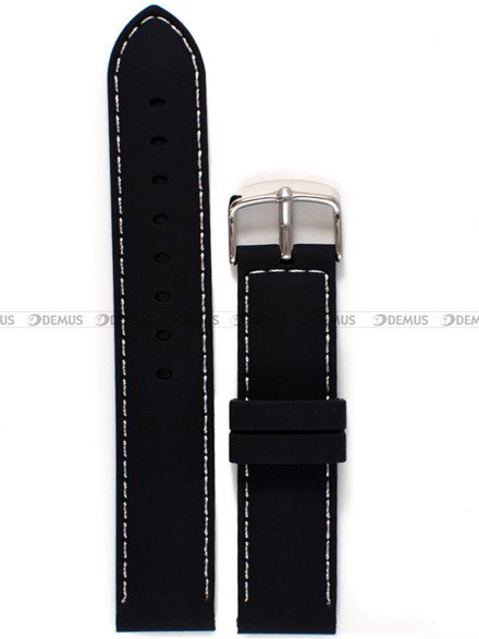 Pasek silikonowy do zegarka - Chermond PG10.20.1.7 - 20 mm