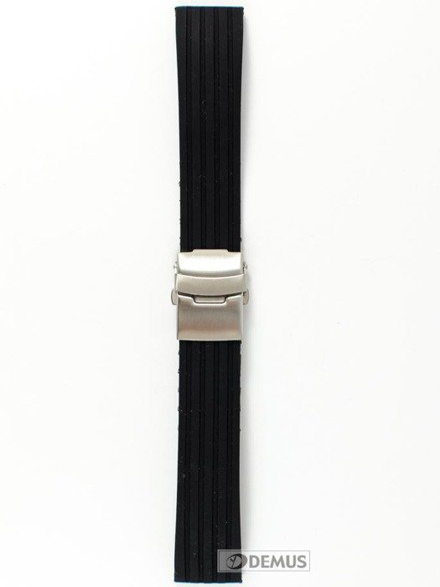 Pasek silikonowy do zegarka - Chermond PG6.20.1 - 20 mm
