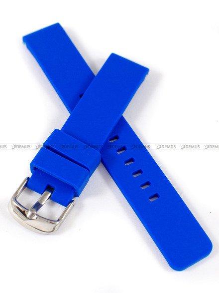 Pasek silikonowy do zegarka - Chermond PG8.18.211 - 18 mm