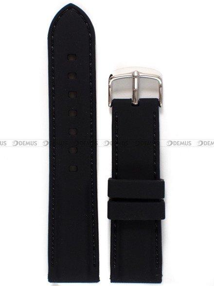 Pasek silikonowy do zegarka - Chermond PG9.22.1.1 - 22 mm
