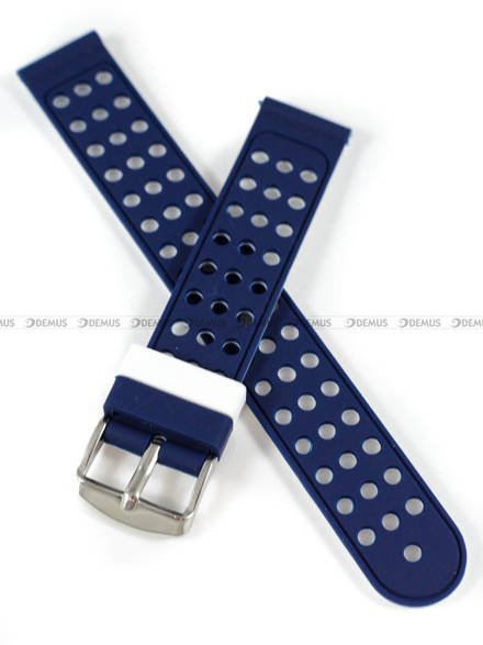 Pasek silikonowy do zegarka - Demus PGS2.18.5.7 - 18 mm