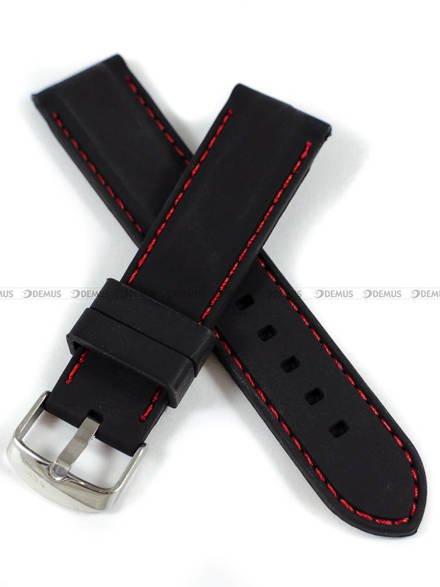 Pasek silikonowy do zegarka - Demus PGS3.22.1.4 - 22 mm