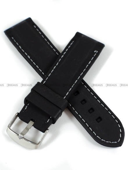 Pasek silikonowy do zegarka - Demus PGS3.24.1.11 - 24 mm