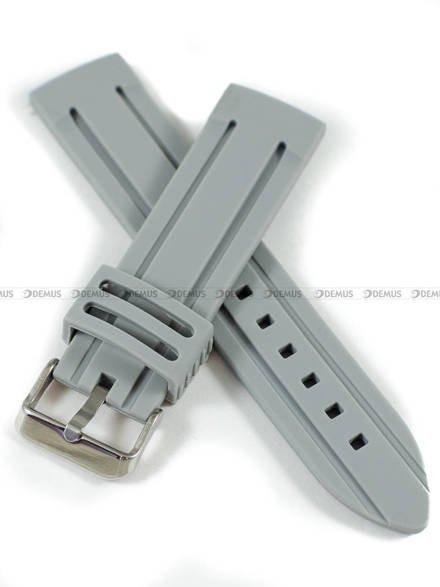 Pasek silikonowy do zegarka - Demus PGS4.24.11 - 24 mm