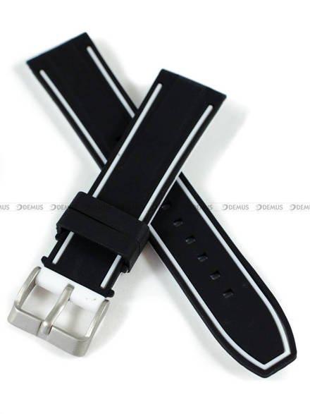 Pasek silikonowy do zegarka - Demus PGS5.22.1.7 - 22 mm