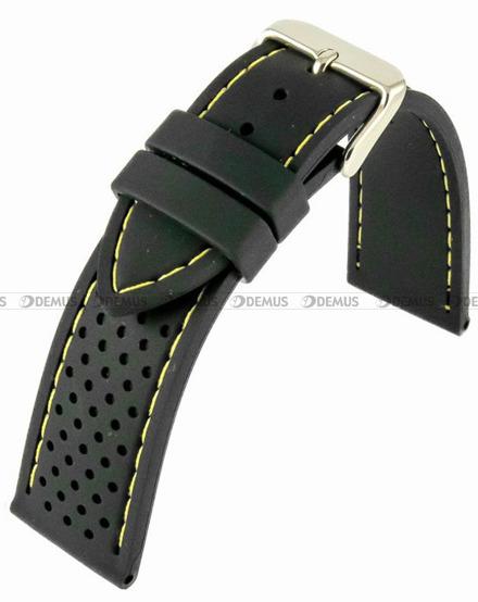 Pasek silikonowy do zegarka - Horido 0015.01Y.24S - 24 mm