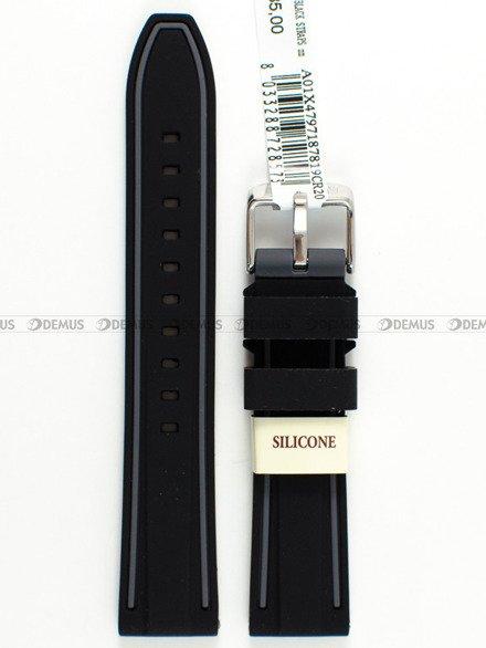 Pasek silikonowy do zegarka - Morellato A01X4797187819 - 20 mm