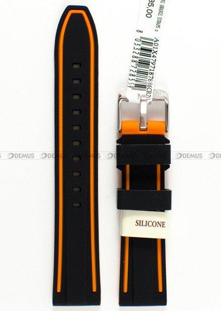 Pasek silikonowy do zegarka - Morellato A01X4797187886 - 20 mm