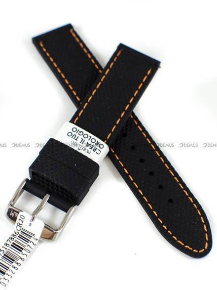 Pasek silikonowy do zegarka - Morellato A01X5275187886CR20 - 20 mm