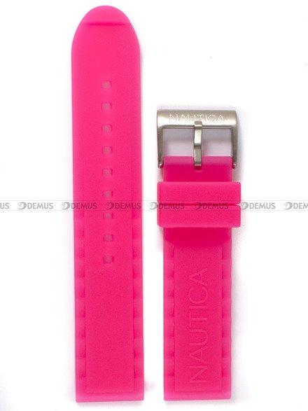 Pasek silikonowy do zegarka Nautica A09607G - 22 mm