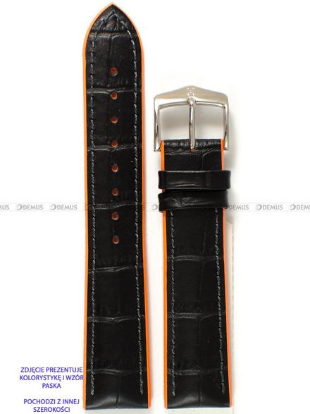 Pasek skórzano-kauczukowy do zegarka - Hirsch Andy 0927628050-2-24 - 24 mm