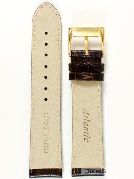 Pasek skórzany do zegarka Atlantic - ATL.L168.03.22G - 22mm
