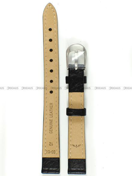 Pasek skórzany do zegarka Bisset - BS-156 - 12 mm - XL