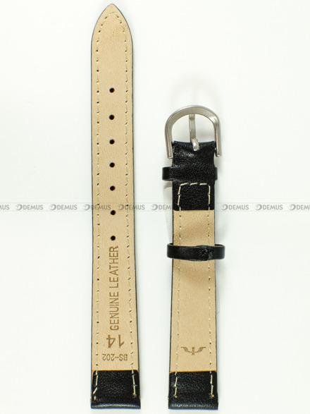 Pasek skórzany do zegarka Bisset - BS-202 - 14 mm