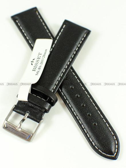 Pasek skórzany do zegarka Bisset BS-203 - 20 mm