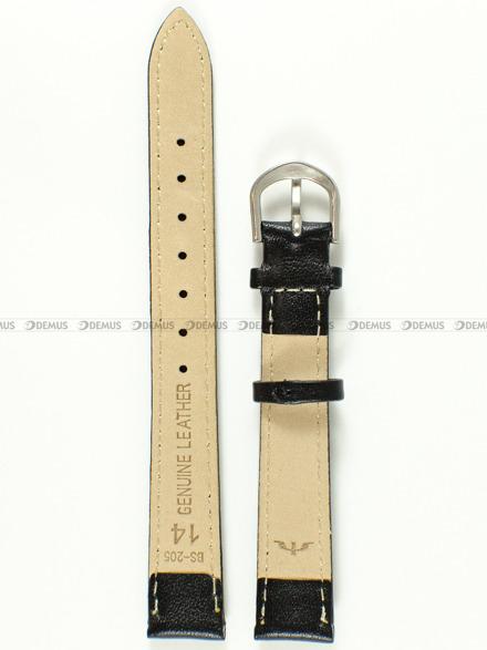 Pasek skórzany do zegarka Bisset - BS-205 - 14 mm