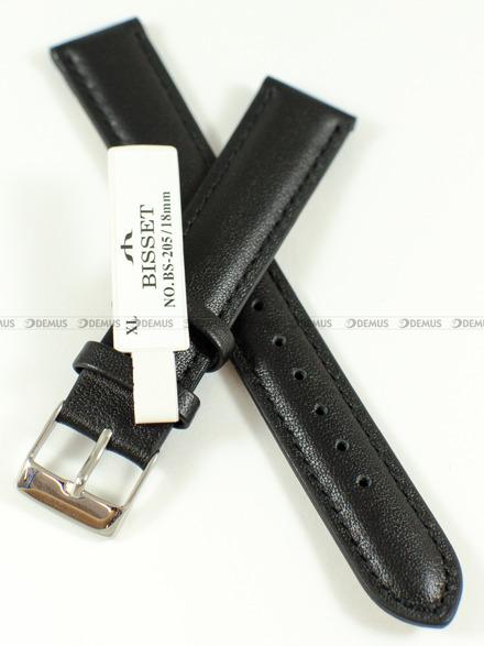 Pasek skórzany do zegarka Bisset - BS-205 - 18 mm