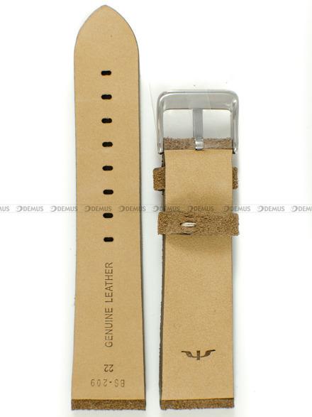 Pasek skórzany do zegarka Bisset - BS-209 - 22 mm