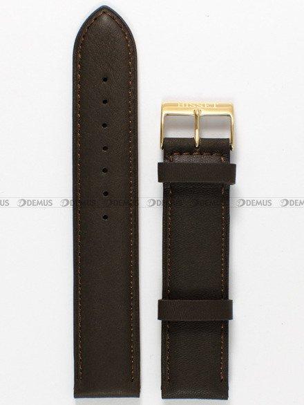 Pasek skórzany do zegarka Bisset - PB17.20.2 - 20 mm