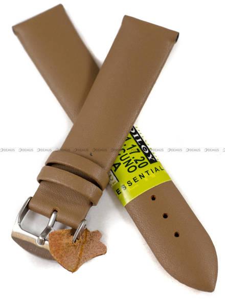 Pasek skórzany do zegarka - Diloy 301.20.17 - 20 mm