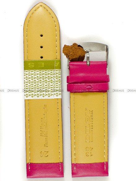 Pasek skórzany do zegarka - Diloy 302.24.14 - 24 mm