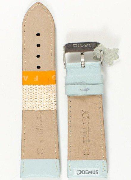 Pasek skórzany do zegarka - Diloy 302EA.26.19 - 26mm
