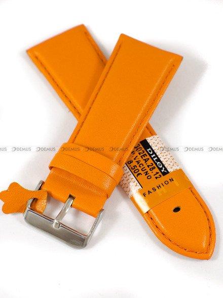 Pasek skórzany do zegarka - Diloy 302EA.28.12 - 28mm