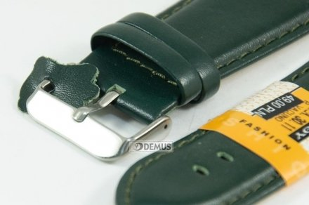Pasek skórzany do zegarka - Diloy 302EA.30.11 - 30mm
