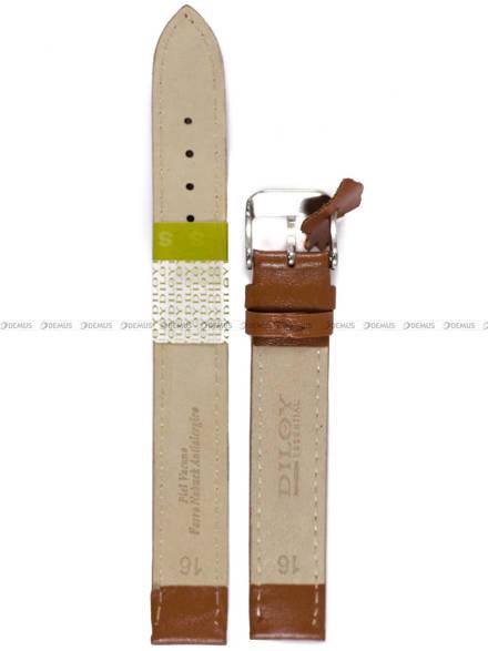 Pasek skórzany do zegarka - Diloy 302EL.16.3 - 16mm