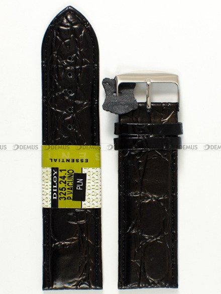 Pasek skórzany do zegarka - Diloy 325.24.1 - 24 mm