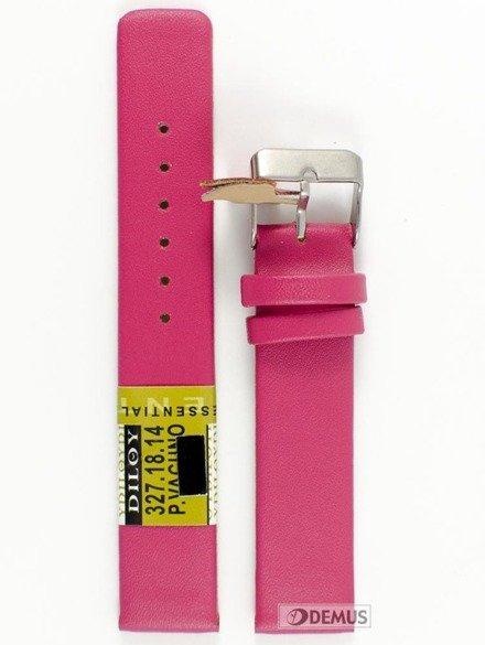 Pasek skórzany do zegarka - Diloy 327.18.14 - 18 mm