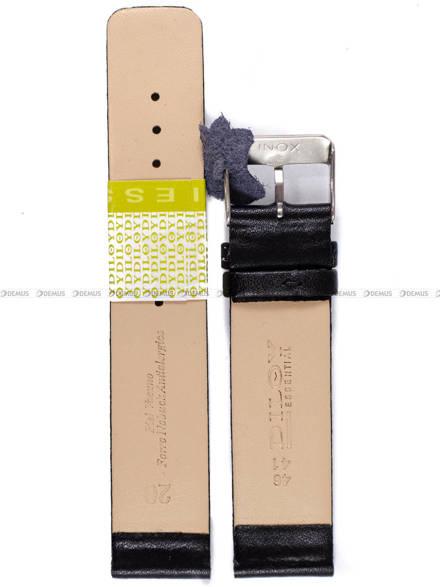 Pasek skórzany do zegarka - Diloy 327.20.1 - 20mm