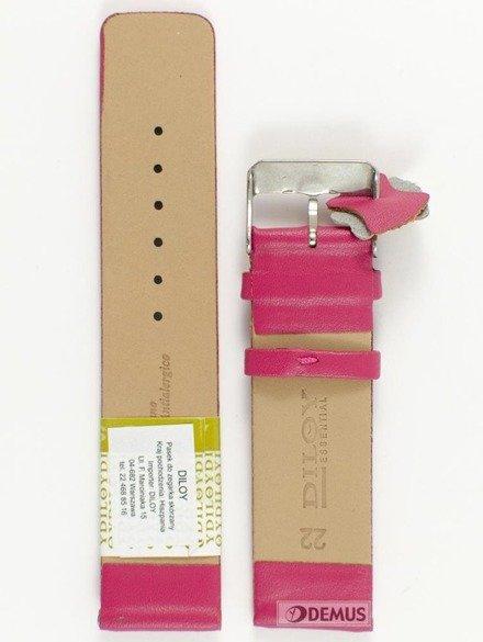 Pasek skórzany do zegarka - Diloy 327.22.14 - 22 mm
