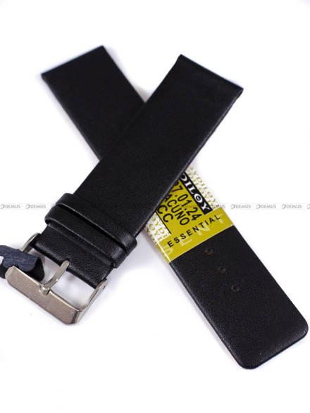 Pasek skórzany do zegarka - Diloy 327.24.1 24mm