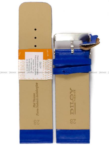 Pasek skórzany do zegarka - Diloy 327.28.16 - 28mm