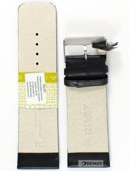 Pasek skórzany do zegarka - Diloy 327.30.1 30mm