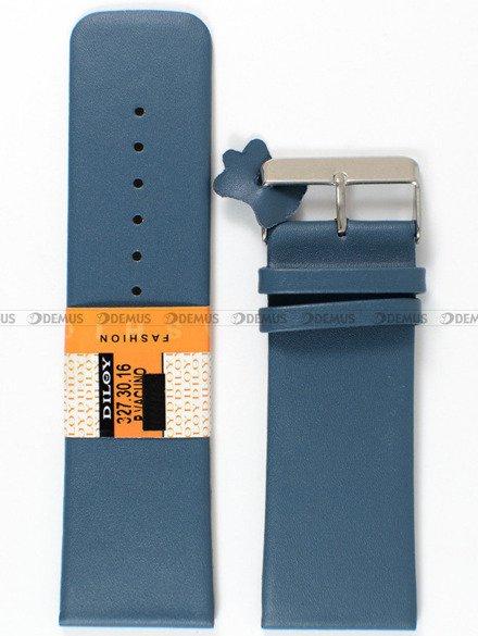 Pasek skórzany do zegarka - Diloy 327.30.16 - 30mm