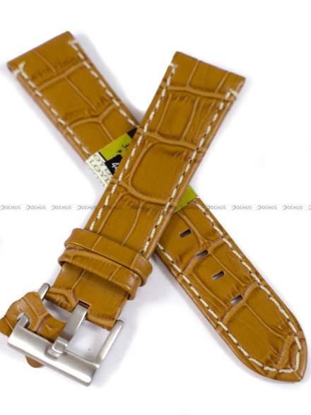 Pasek skórzany do zegarka - Diloy 361.20.9 - 20mm