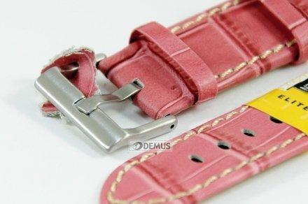 Pasek skórzany do zegarka - Diloy 361.22.13 - 22mm