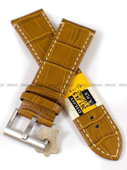 Pasek skórzany do zegarka - Diloy 361.24.9 - 24mm