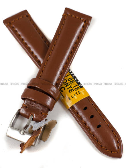Pasek skórzany do zegarka - Diloy 363.18.8 - 18 mm