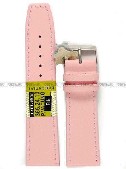 Pasek skórzany do zegarka - Diloy 366.24.13 - 24 mm
