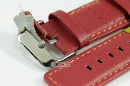 Pasek skórzany do zegarka - Diloy 367.24.4 - 24mm