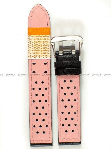 Pasek skórzany do zegarka - Diloy 380.18.1.13 - 18 mm