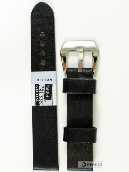 Pasek skórzany do zegarka - Diloy 383.18.1 - 18mm