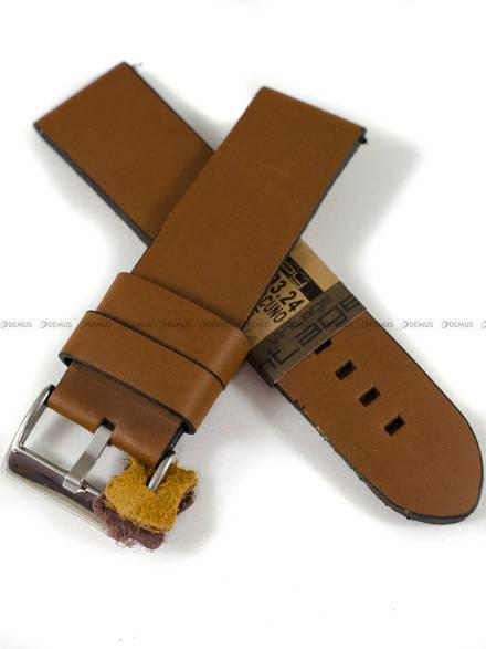 Pasek skórzany do zegarka - Diloy 383.24.3 - 24mm