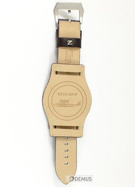 Pasek skórzany do zegarka - Diloy 386.24.2 - 24mm