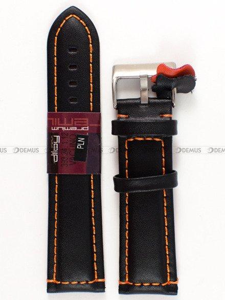 Pasek skórzany do zegarka - Diloy 393.24.1.12 - 24 mm