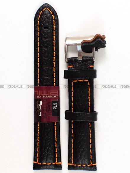 Pasek skórzany do zegarka - Diloy 394.20.1.12 - 20 mm