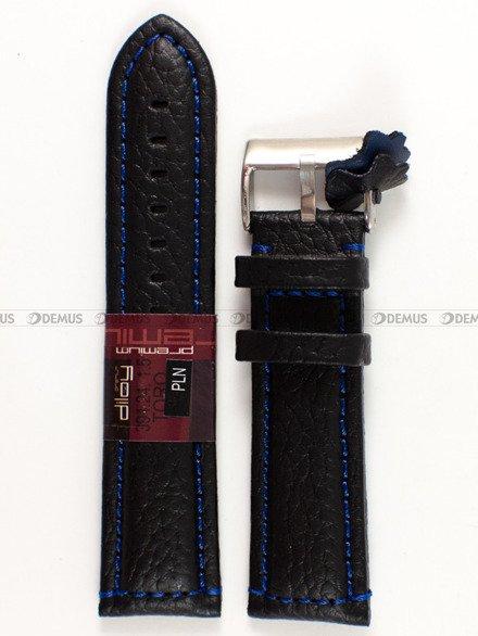 Pasek skórzany do zegarka - Diloy 394.24.1.5 - 24 mm
